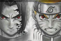 Sasuke, Curse Mark, Naruto, Nine Tails form, Nine Tails eyes; Naruto