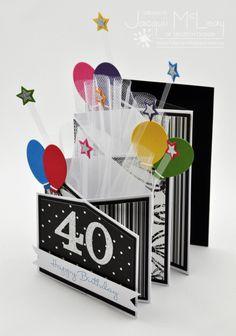 Tri-fold Birthday Card