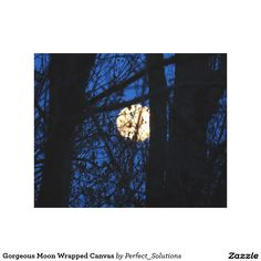 Decorate your walls with Elegant canvas prints from Zazzle! Choose from thousands of great wrapped canvas to beautify your home or office. Canvas Art Prints, Wrapped Canvas, Moon, Elegant, Poster, The Moon, Classy, Chic, Billboard