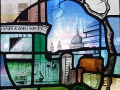 Image result for stained glass christ church southwark Leaded Glass, Stained Glass Art, Christ, Gallery, Image, Roof Rack, Stained Glass, Cut Glass