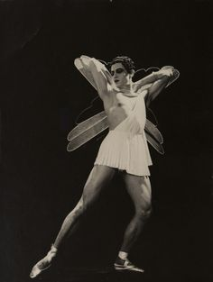 Serge Lifar in Icare, Ballet Russes, 1935