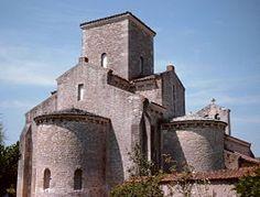 Kerk van Germigny Karolingische stijl