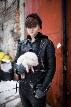 Outside Polish Fashion Week.  [Photo by Kuba Dabrowski]