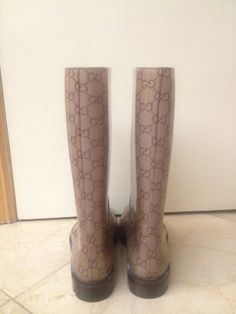 Gucci Flat Rain Boots (Edimburg) - $210.00
