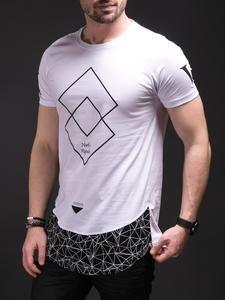 N&R Men XV Graphic T-shirt - White