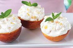 Peaches 'n Cream Cups