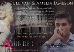 Official Character Promo for Asunder, Volume 4 in the House of Crimson & Clover series