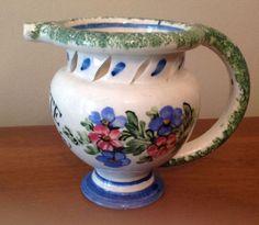 Antique-Italian-Puzzle-Mug-Jug-Bevete-se-Potete
