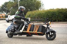 motofocker cargo-scooter blends delivery truck & two-wheeler