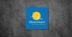 Télécontact: création d'une communication visuelle globale Graphic Design, Advertising Agency