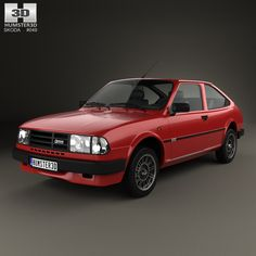Skoda Rapid 1984 3d model from Humster3D.com.