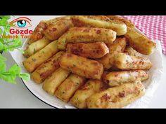 Gözde Yemek Tarifleri - YouTube Protein Salad, Turkish Delight, Cheddar, Empanadas, Bread Recipes, Breakfast Recipes, Appetizers, Yummy Food, Lunch
