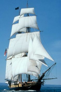 Great Lakes Tall Ship Niagara and 15 other Tall Ships participate in the Battle of Lake Erie Re-Enactment 10 miles offshore Put-In-Bay during Labor Day weekend 2013.