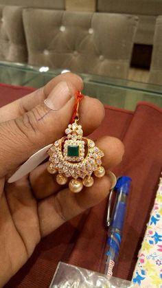 Maang Tika Tikka Jewelry, Head Jewelry, Pendant Jewelry, Jewelery, Indian Wedding Jewelry, Indian Jewelry, Bridal Jewelry, Gold Pendent, Diamond Pendant