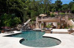Tuscan Paradise - mediterranean - pool - san francisco - by Maggetti Construction Inc.