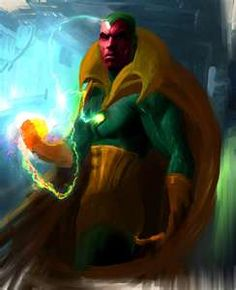 Marvel Comics The Vision