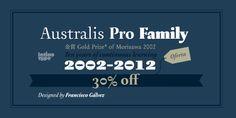 Australis Pro (30% discount, from 23,09€)   https://fontsdiscounts.com/australis-pro-70-discount-family-4875e?utm_content=bufferb388a&utm_medium=social&utm_source=pinterest.com&utm_campaign=buffer