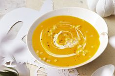 Create this deliciously creamy butternut pumpkin soup for the winter months.