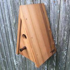 specializing in wooden goods and art pieces for the home. The collection of products is ever-changing, uniquely Vermont. Woodworking Diy Gifts, Modern Birdhouses, Wooden Bird Houses, Market Displays, Bird Boxes, Wood Plans, Bird Feeders, Wood Projects
