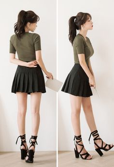 teen mini I love skirts
