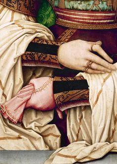 Portrait of Bianca Maria Sforza (detail), ca. 1505-10