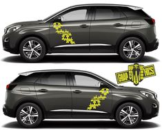 Excited to share this item from my shop: Side door vinyl decal sticker for Peugeot 3008 Peaces) Forging Metal, Racing Stripes, Diecast Model Cars, Car Brands, Chevrolet Impala, Ford Models, 3008 Peugeot, Grey Yellow, Hot Cars