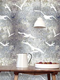 Flight flint Stone Wall Wallpaper - LouiseBody