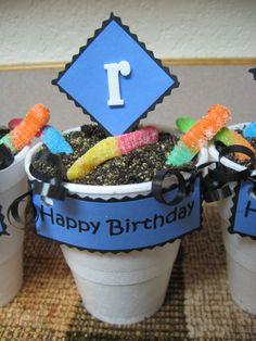 Cup-O-Dirt Cupcakes