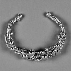 Wire Wrapped Cuff Bracelet