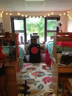 My dorm room!