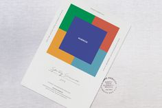 Kuburick is a fashion brand from Japan. Kubrick was named after the famous director, Stanley Kubrick. STUDIO NEWWORK created the brand identity system including logotype, business card, clothing labels, hang tags, and seasonal invitations.
