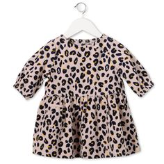 Peony Skippy leopard print dress. - STELLA MCCARTNEY KIDS