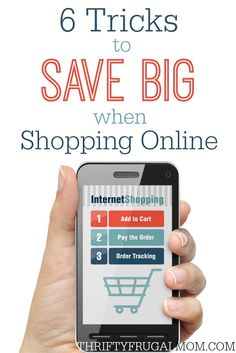 A must-read if you do any online shopping! Find out how to save BIG with these money saving tips. Who doesn't like to shop from the comfort of your own home and still get deals?