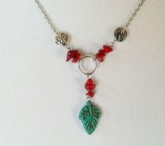 The perfect gift idea is @ Earthcentricity! Nature Goddess Necklace by Earthcentricity on Etsy $25