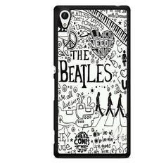 The Beatles Lyrics TATUM-10687 Sony Phonecase Cover For Xperia Z1, Xperia Z2, Xperia Z3, Xperia Z4, Xperia Z5