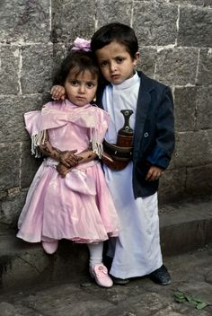 Yemen, 1997 The Power of Two by Steve McCurry