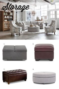 How do you use an ottoman? Check out five different ways ottomans can easily become one of the most versatile furniture pieces in your home!