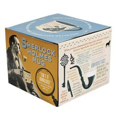 Sherlock Holmes Coffee Mug - Holmes quotes, rules of deduction, intriguing images, and Sidney Pagets' portrait - Comes in a Fun Gift Box Sherlock Holmes, Mysterious Things, Coffee Mugs, Mystery, Best Gifts, Deduction, Detective, Fun, Image