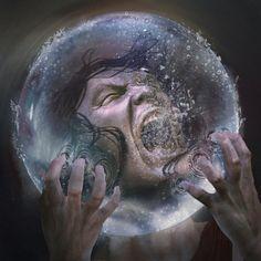 Drowning Sphere by 0oki on DeviantArt