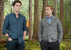 I wish there was more of Carlisle and Edward in the series. They just have such a strong, incredible bond.