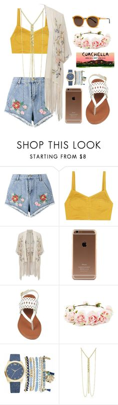 """""""Coachella 2"""" by vale14m on Polyvore featuring House of Holland, Isa Arfen, Miss Selfridge, Thierry Lasry, Forever 21, Mixit and Adoriana"""