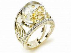 """Exposicao na Harrods de Londres, """"Colecao Estrelas de diamantes da Africa Flutuante"""""""