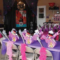 Hannah Montana/High School Musical/Rock Star birthday party-Party Favors