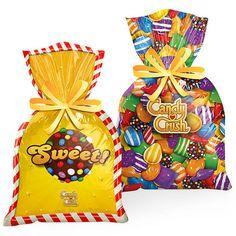 Sacola Plástica Candy Crush Saga - 08 unidades - Magazine 25 de Março