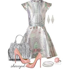 """Mary Katrantzou Prints Contest"" by sherryvl on Polyvore"