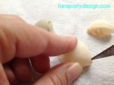 Seashells windchimes tutorial. Summer activity with the kids.  Móvil de caracolas para hacer con los chicos en el verano.