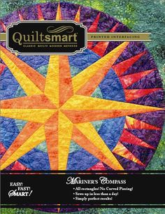 Mariner's Compass Quilt Pattern by Quiltsmart