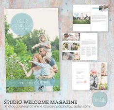 Portray a professional image for your photography business with this 8 Page Digital Photography Magazine. Verbiage is written for you so you can