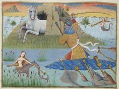 Evrart de Conty , Le livre des échecs amoureux moralisés, saec. XV