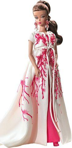 Palm Beach Coral (2010) Silkstone Barbie